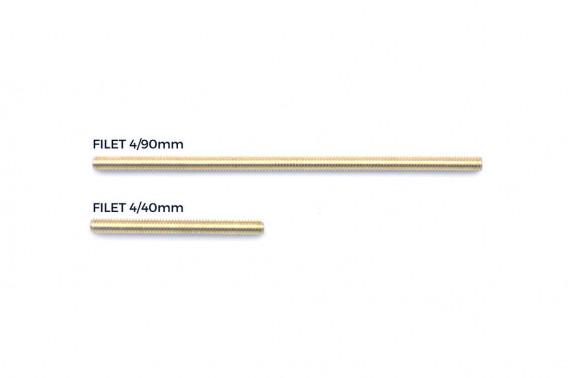 Filet laiton 4/40mm