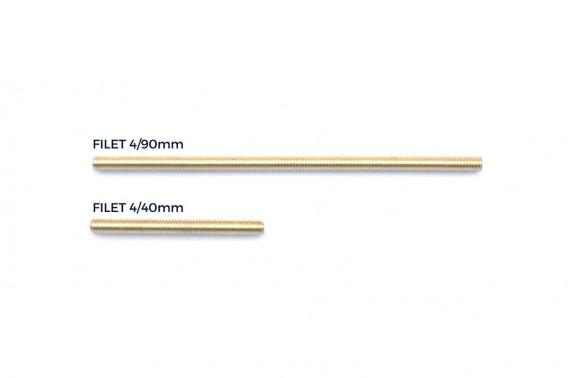Filet laiton 4/90mm