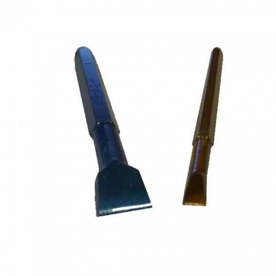 Ciseaux à graver lario bleus pour granit dur en 10
