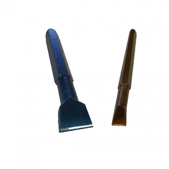 Ciseaux à graver lario bleus pour granit dur en 12