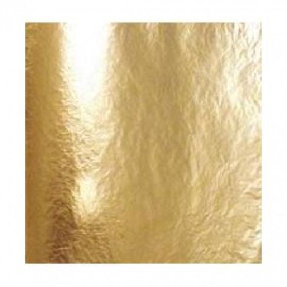 Feuille d'or 1er choix 22 carats collé