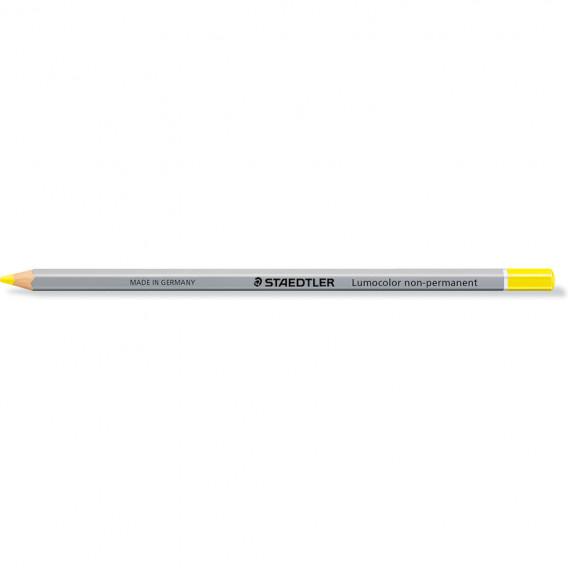 Crayon bois octogonaux non permanent jaune