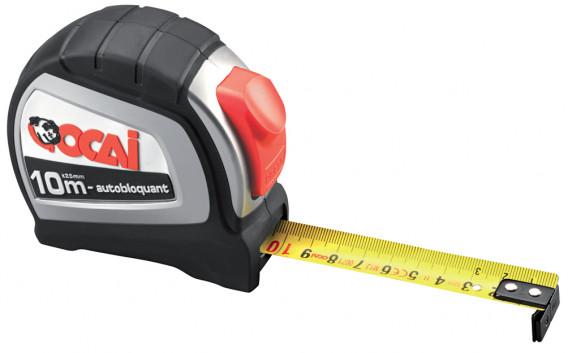 Mesure «ROBUST» ABS caoutchouc 3 m x 16 mm