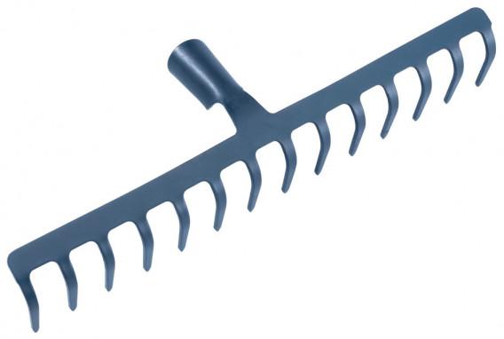 Râteau 14 dents courbées 40 x 8.5 cm
