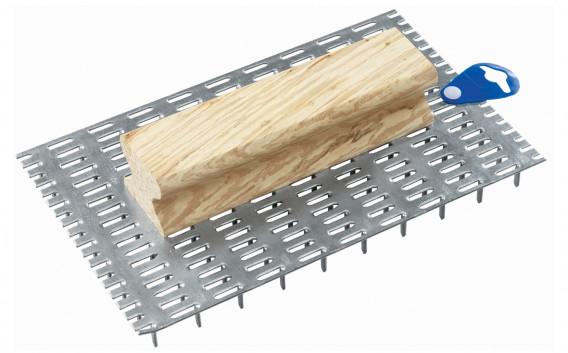 Gratton sur poignée bois 240 pointes 25 x 15 cm