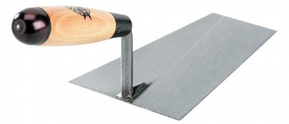 Truelle carrée acier laminé «RUSTICA» 22cm