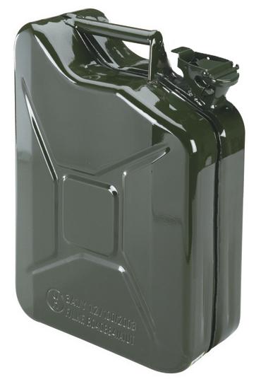 Jerrican tôle U.S. 10 litres