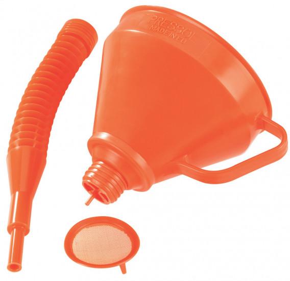 Entonnoir + flexible  ø145  x  H  390 mm