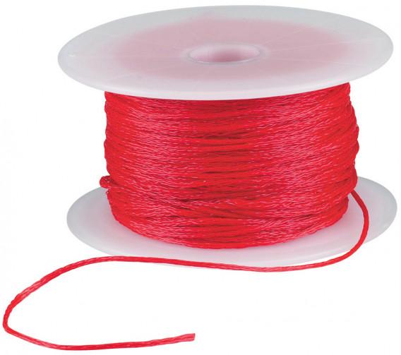 Cordeau tressé polypropylène 50 m ø 1,2 mm