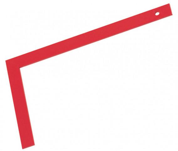 Equerre de maçon tout acier 80 x 40 cm