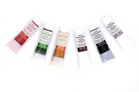 7 colorants en tube 30ml
