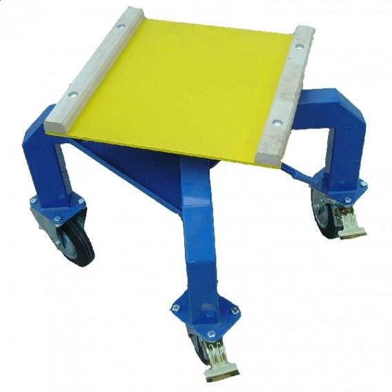 Table mobile à plaque tournante 1500kg