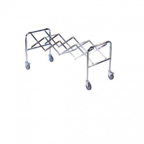 Chariot extensible roues Ø12,5