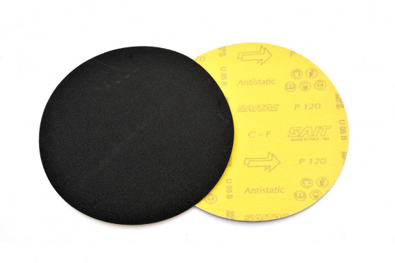 Disque abrasif velcro qualité sait Ø150 gr.80