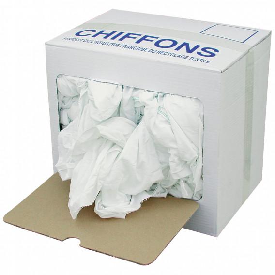 Essuyage blanc en 10 kgs