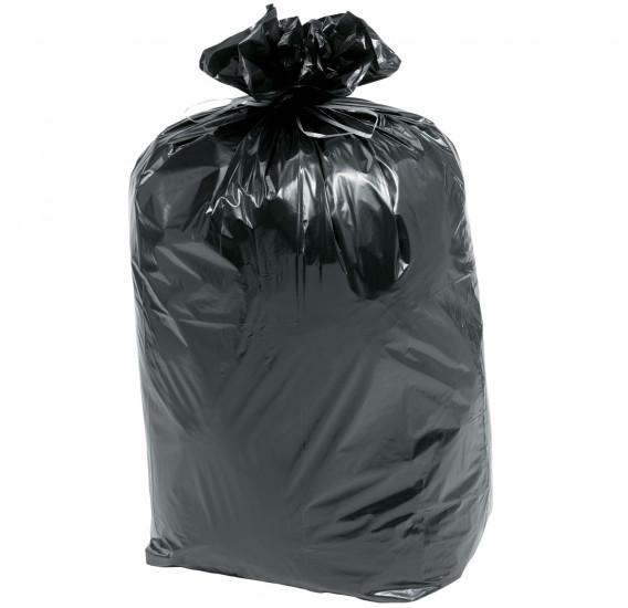 Sacs poubelle à lien renforcé (par 10 sacs)